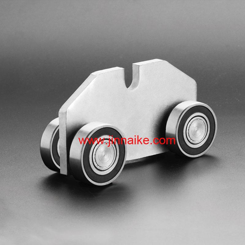 Rodillo de carro de puerta en voladizo (4 ruedas)