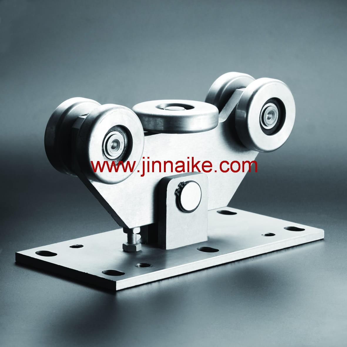 Rodillo de carro de puerta voladizo (5 ruedas medianas y grandes)