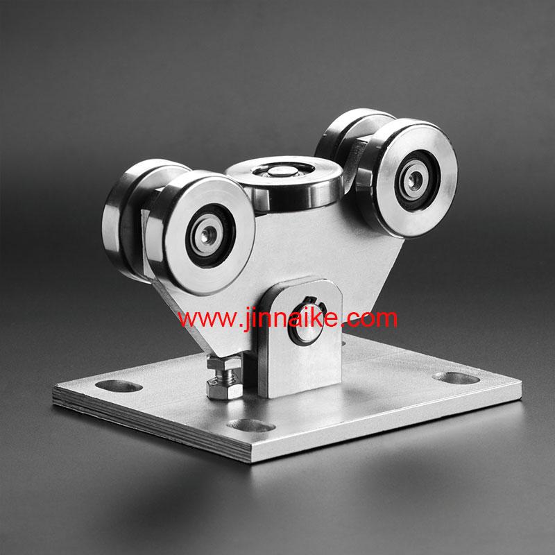 Rodillo de carro de puerta en voladizo (5 ruedas pequeñas)