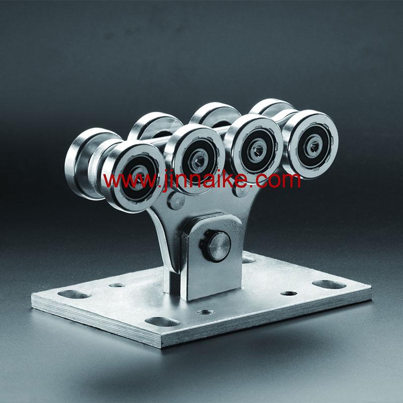 Rodillo de carro de puerta voladizo (8 ruedas pequeñas)