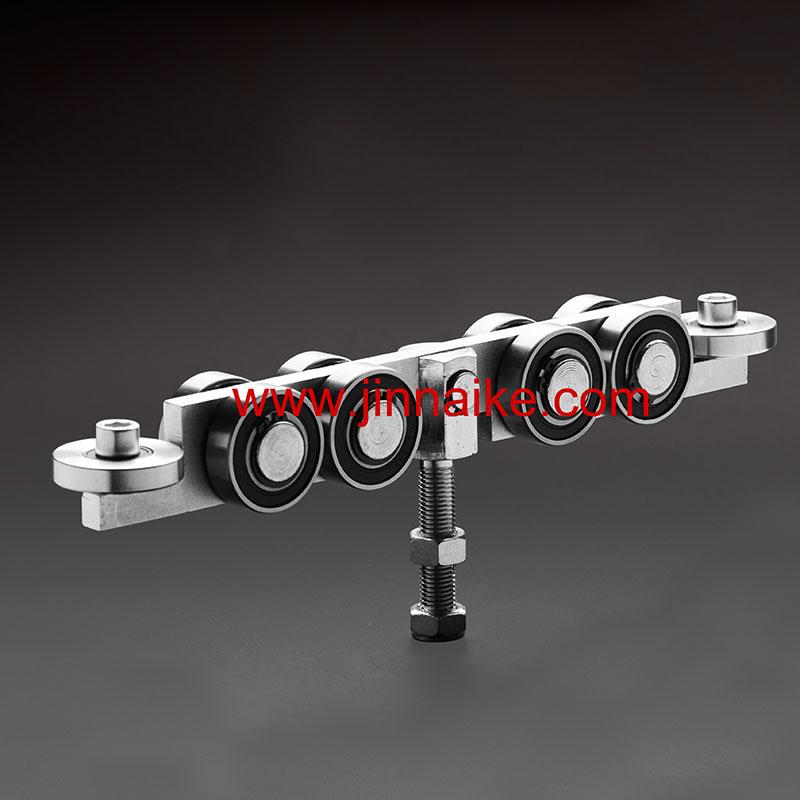 Carro de riel de puerta deslizante interna (10 ruedas)