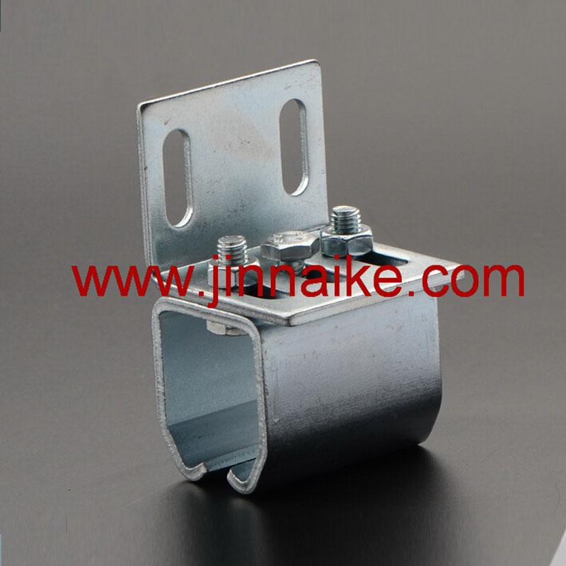 Soporte de fijación para riel de rodillo de puerta colgante (fijación a la pared)