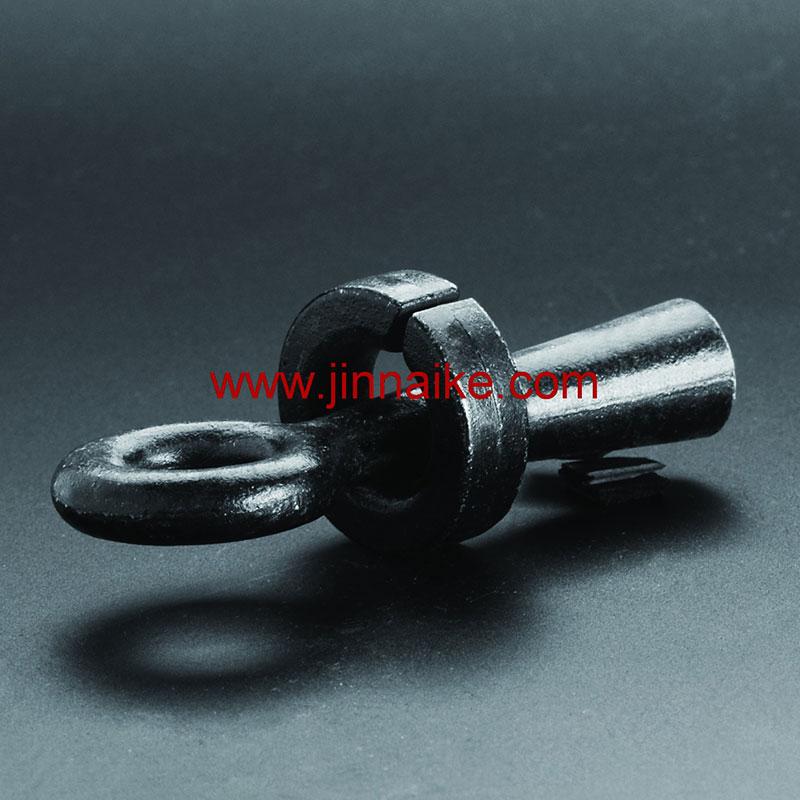 Clip de cuerda de alambre (perno de ojo y tuerca)