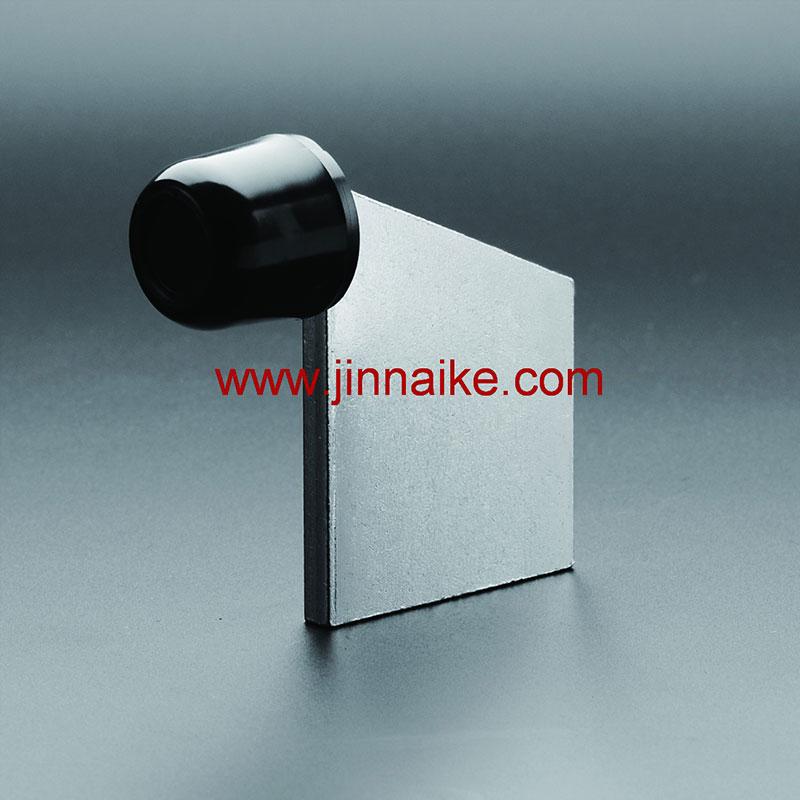 Tope de puerta sin placa base (goma grande)