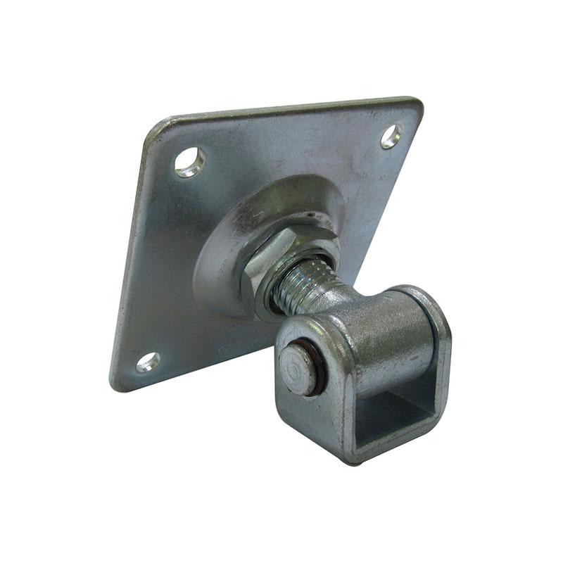 Bisagra soldable ajustable para puerta batiente
