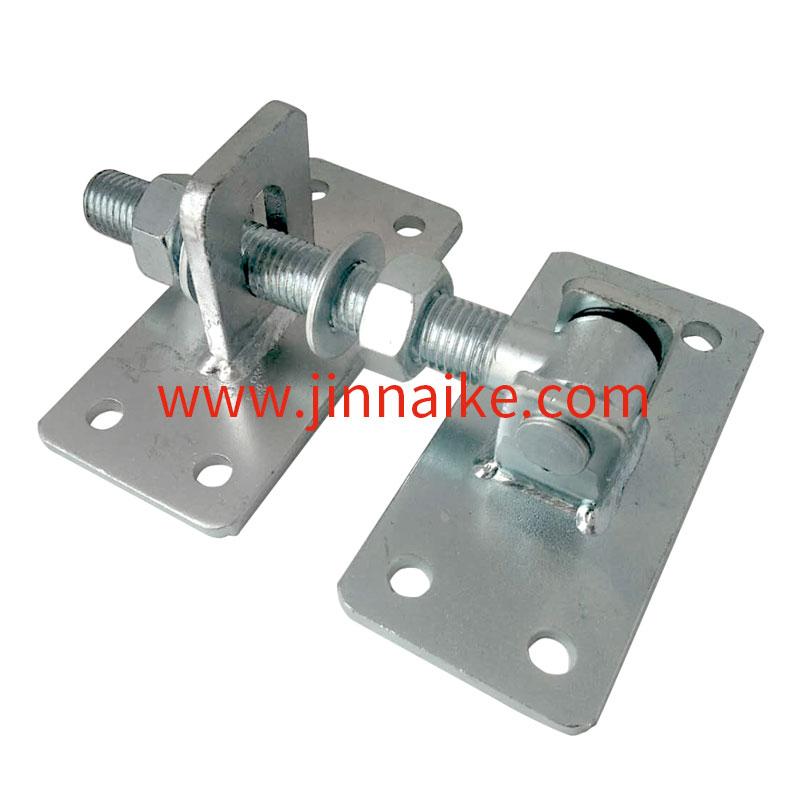 Puertas pesadas con 2 placas de montaje Bisagra de puerta ajustable